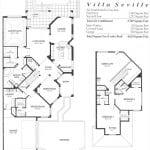 Villa Seville Floorplan